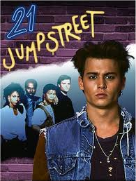 21 jumpstreet rare season 1 promo press cover art hot rare johnny depp hot sexy peter deluise