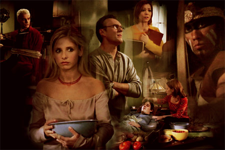 buffy the vampire pangs thanksgiving episode angel rare promo hot sexy sarah michelle gellar