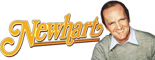 key_art_newhart rare promo newhart logo bob newhart rare dick lowden rare cbs sitcom logo mary frann