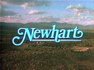 newhart rare television series logo title credit newhart rare press promo cast photo tom poston mary frann bob newhart peter scolari julia duffy