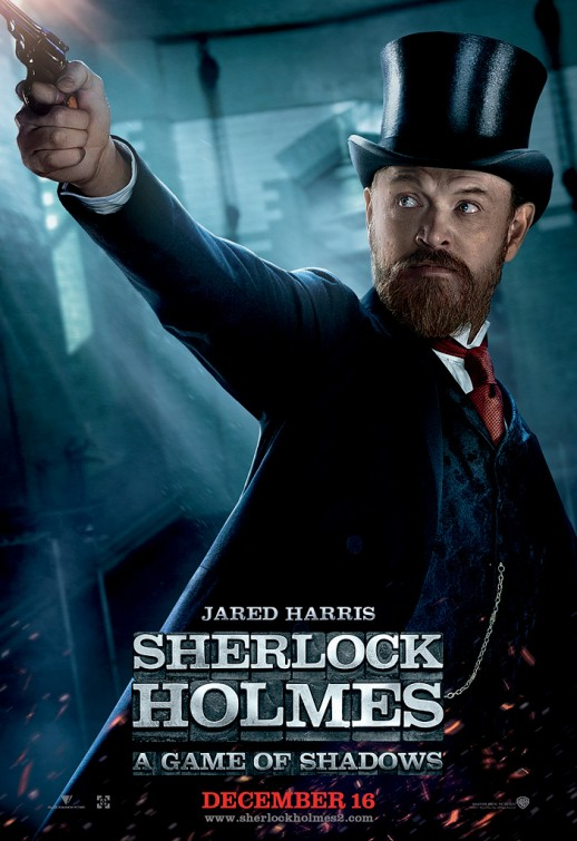 sherlock_holmes_a_game_of_shadows jared harris moriarty rare individual promo individual action movie poster promo mad men hot