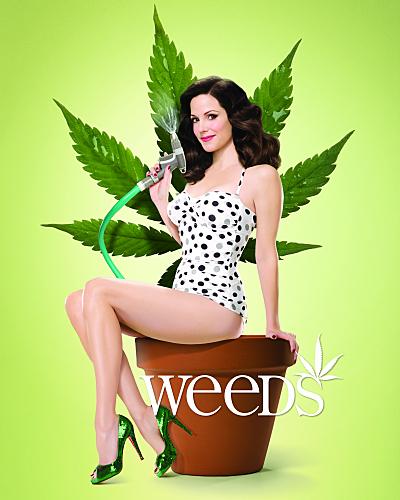 weeds season 4 rare promo poster mary louise parker showtime series hot rare promo mary louise parker