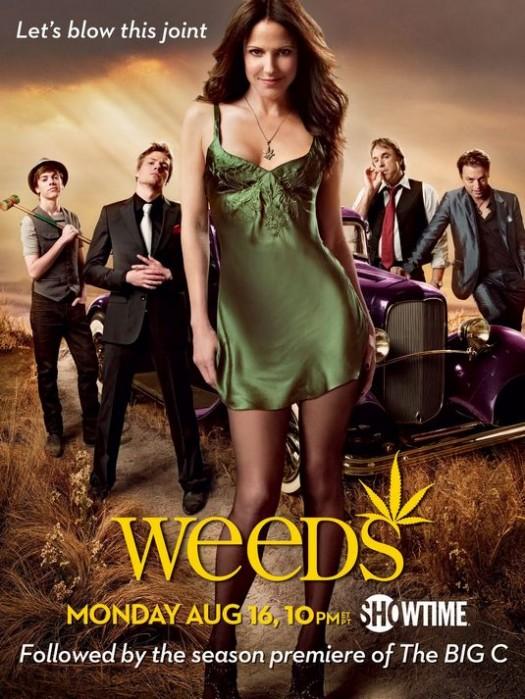 weeds season 6 rare promo poster mary louise parker showtime series hot rare promo mary louise parker
