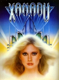 xanadu rare promo movie poster artwork olivia newton john hot sexy australian hot rare promo press still