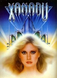 xanadu rare promo movie poster artwork olivia newton john hot sexy australian hot rare promo press still