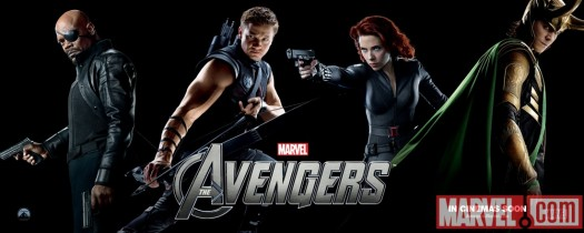 The avengers international character banner posters jeremy renner hot sexy muscles rare shirtless promo scarlett johanssen black widow hawkeye