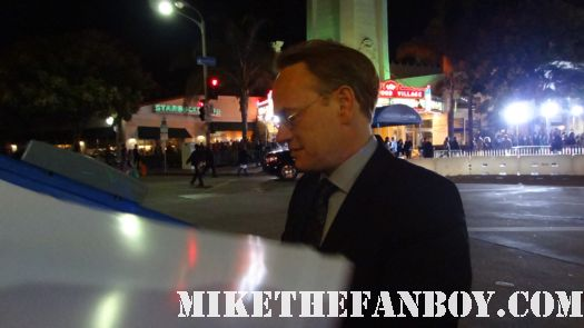 Jared harris signing autographs for fans at sherlock holmes a game of shadows world movie premiere with robert downey jr jared harris rachel mcadams