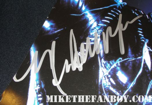 michele pfeiffer signed autograph catwoman rare promo mini poster batman returns promo