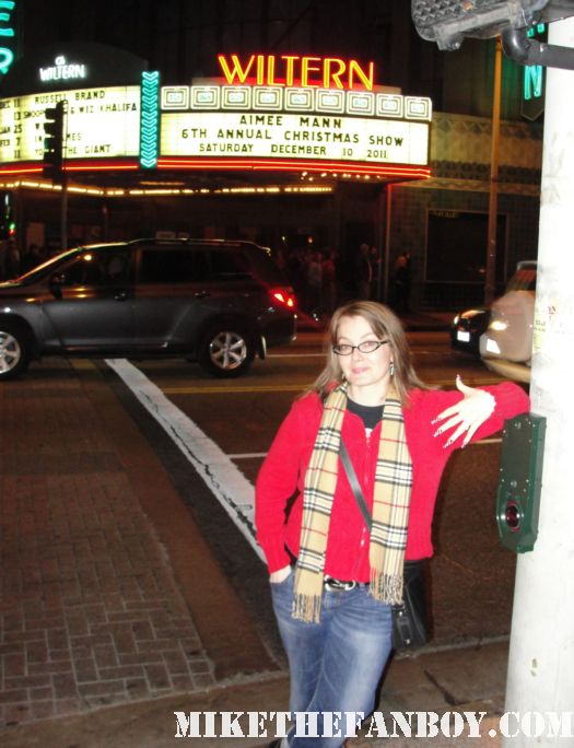 aimee mann's sixth annual christmas show live in concert at the wiltern theatre in los angeles