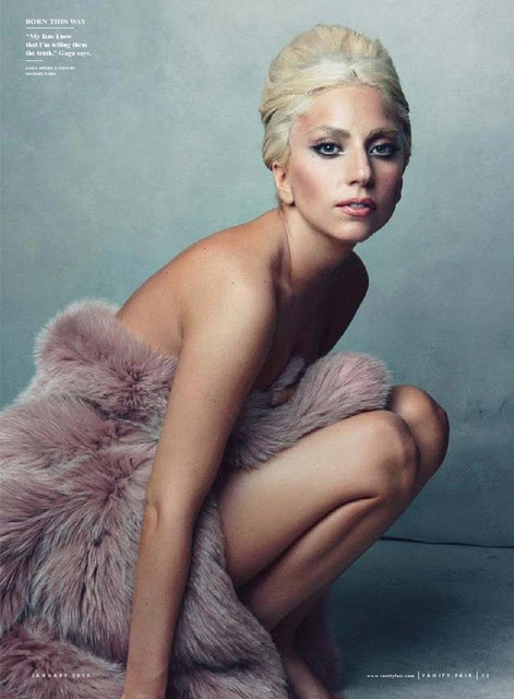 Lady_GaGa_Vanity_Fair_January_01 lady gaga hot and sexy photo shoot for vanity fair magazine rare promo january 2012 cover magazine shoot