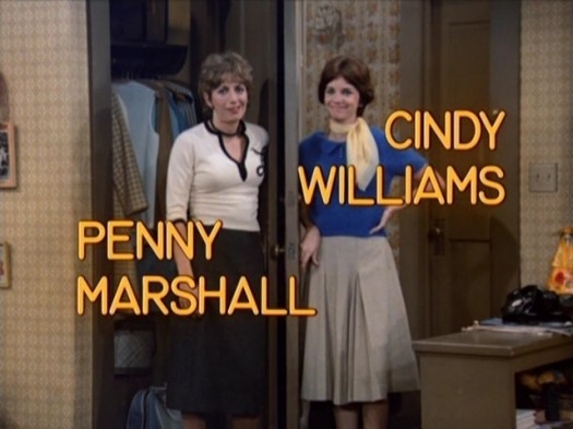 Laverne-Shirley-laverne-and-shirley- rare logo and title credits penny marshall cindy williams rare promo