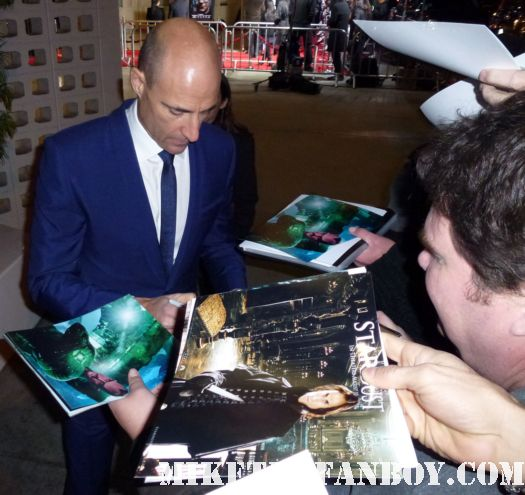 mark strong signing autographs for fans tinker tailor soldier spy world movie premiere red carpet with mark strong colin firth and gary oldman
