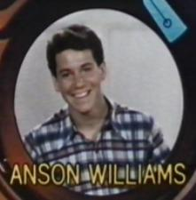 anson williams rare title card promo happy days hot sexy potsie promo happy days logo title rare