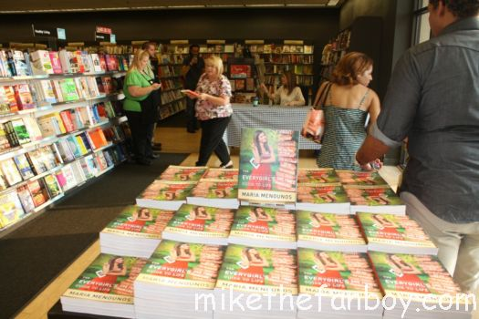 EXTRA TV Host, Maria Menounos hosts a book signing for The Every girl's Guide to Life