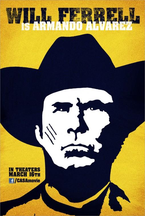 casa_de_mi_padre case de mi padre rare promo teaser one sheet movie poster will ferrell hot wester comedy three amigos