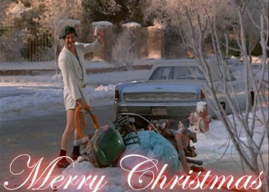 cousin eddie from national lampoons christmas vacation peeing in the sewer merry christmas randy quaid