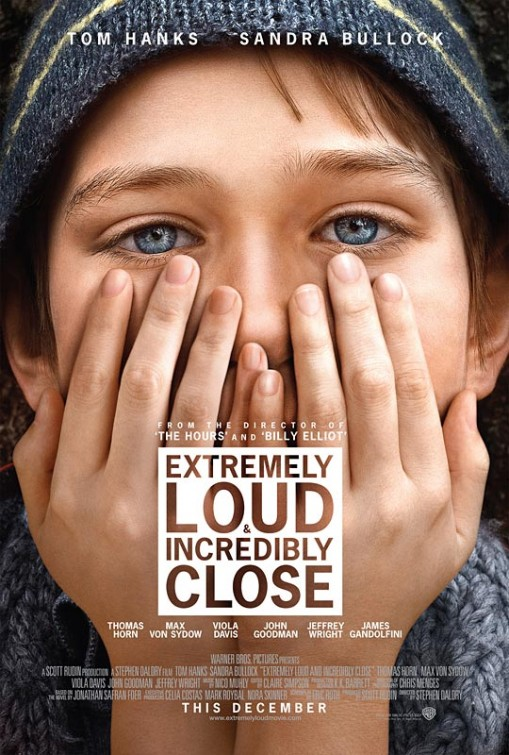 extremely_loud_and_incredibly_close rare one sheet movie poster promo sandra bullock tom hanks thomas horn rare promo