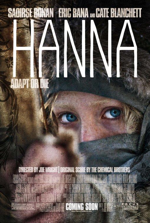 hanna rare movie poster promo kate blanchet Saoirse Ronan eric banna rare promo poster hot sexy