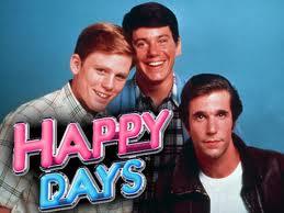 Happy days rare promo cast photo press still marion ross anson williams ron howard tom bosley rare promo