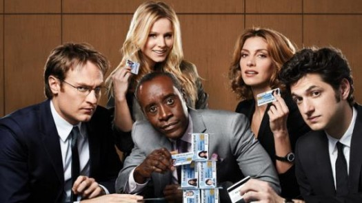 house of lies showtime rare promo press still house of lies cast photo don cheadle kristen bell veronica mars rare