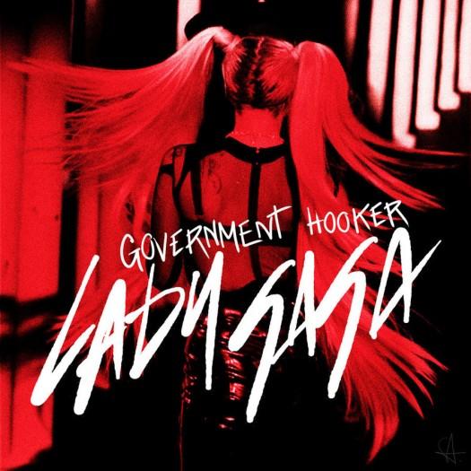 lady_gaga___government_hooker Lady Gaga – Government Hooker cd single artwork rare promo cd cover artwork lady gaga