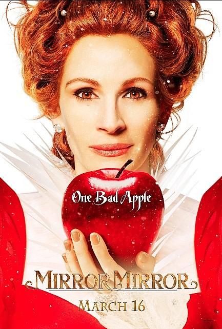 mirror_mirror rare teaser one sheet movie poster julia roberts evil queen rare promo poster hot sexy pretty woman