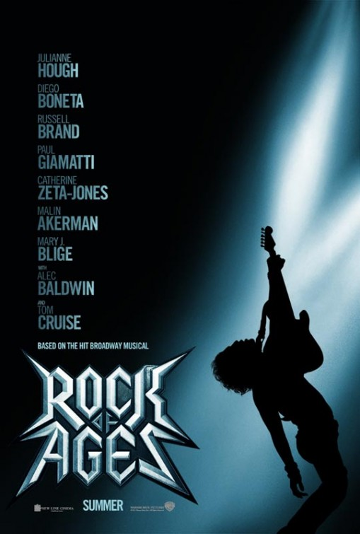 rock_of_ages rare promo teaser movie poster promo tom cruise russell brand alec baldwin hot sexy rare
