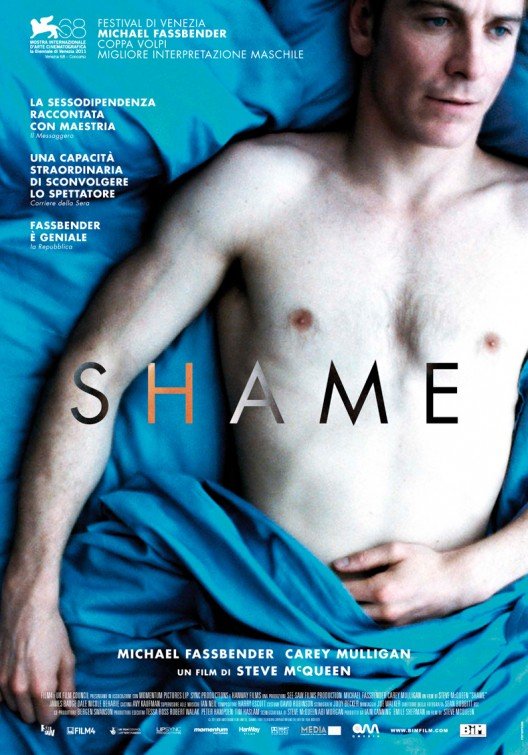 shame_ver4 shame michael fassbender shirtless naked rare movie poster promo hot sexy one sheet abs