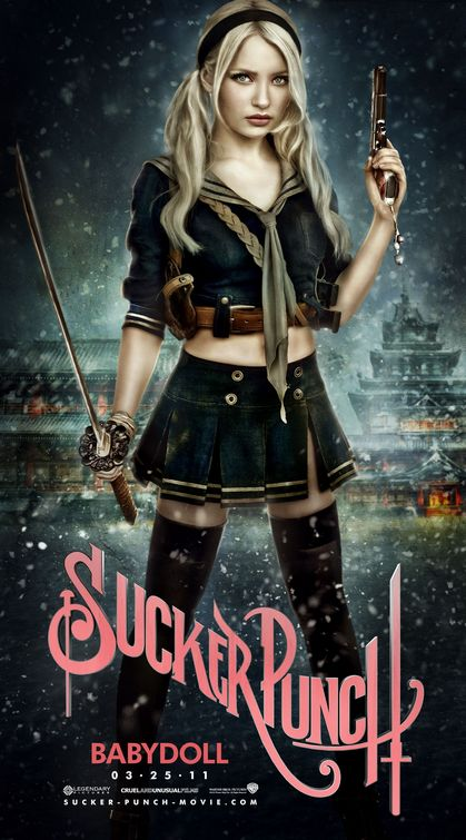 sucker_punch rare promo poster emily browning hot sexy promo still sucker punch hot sexy rare promo