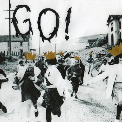 Santigold feat. Karen O – Go rare cd single promo artwork cd cover promo rare yeah yeah yeahs