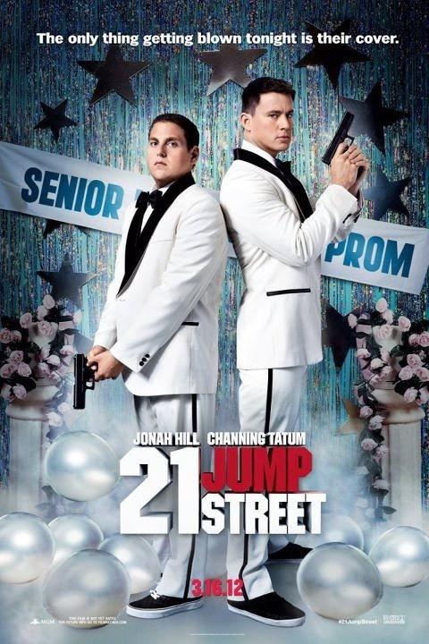 twenty_one_jump_street 21 jumpstreet rare pormo teaser poster channing tatum rare hot sexy jonah hill dance teaser poster promo