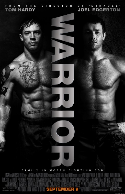 warrior_ver3 warrior rare promo poster tom hardy shirtless sexy hot muscle bane joel edgerton shirtless hot sexy