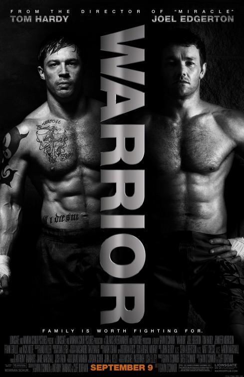 warrior_ver3 warrior rare promo poster tom hardy shirtless sexy hot muscle bane joel edgerton shirtless hot sexy