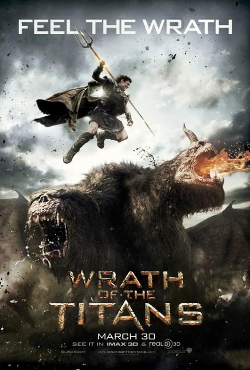 wrath_of_the_titans wrath_of_the_titans_ver2 rare promo banner sam worthington hot sexy clash of the titans 2 rare War