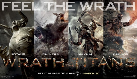 wrath_of_the_titans_ver2 rare promo banner sam worthington hot sexy clash of the titans 2 rare War