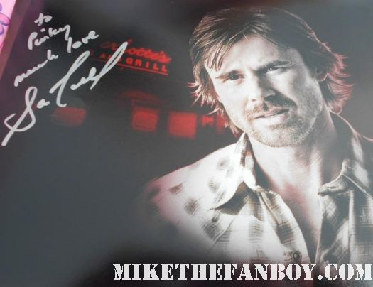 sam trammell rare promo true blook hand signed autograph photo rare promo sam merlotte rare shape shifter hot sexy
