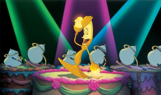 """Disney """"Beauty & the Beast 3D"""" Lumiere press still beauty and the beast in 3d rare promo still hot promo"""