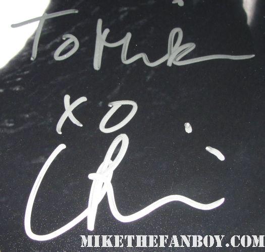 christina ricci hand signed autograph sleepy hollow rare mini promo poster miranda richardson johnny depp