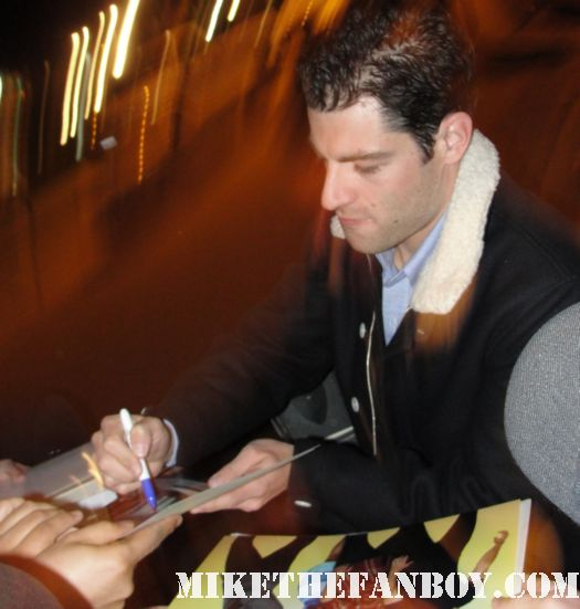 Max Greenfield from The New Girl stops to sign autographs at the fox all star party rare sexy hot veronica mars star deputy leo sexy hot