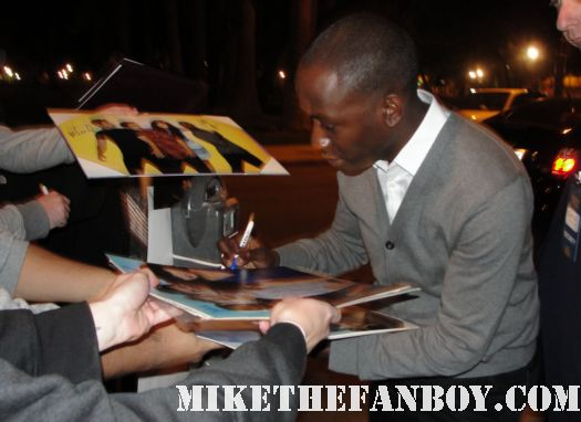 Lamorne Morris from new girl signing autographs at the fox all star party 2012 hot sexy rare