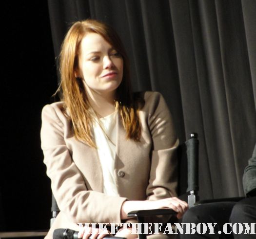 jessica chastain emma stone and viola davis at the sag awards q and a for the help signed autograph ACTORS GONE WILD For The Cast Of The Help At SAG Awards Cast Q and A! Emma Stone! Jessica Chastain! Octavia Spencer! Viola Davis! Tate Taylor! Autographs and More!