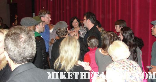 Michel Hazanavicus signing autographs at the artist q and a screening rare promo