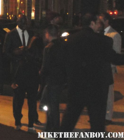Peter Mensah arriving to the spartacus vengeance world movie premiere hot rare promo signed autograph