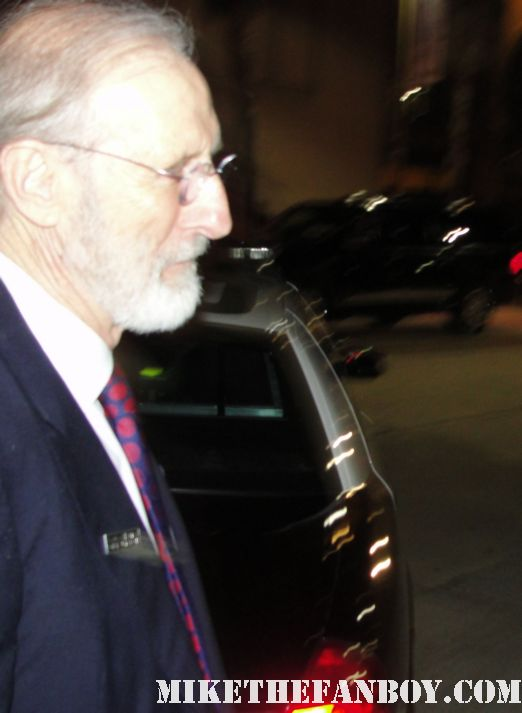 james cromwell signing autographs for fans after the sag awards the artist babe six feet under rare promo