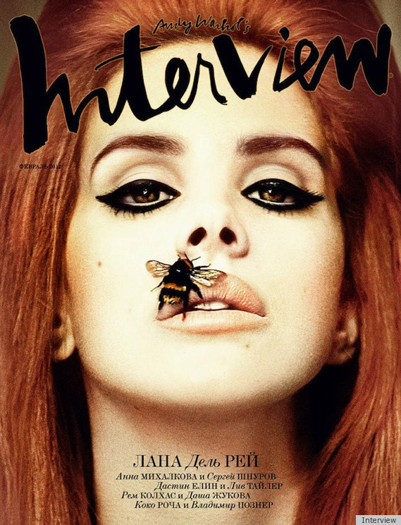 Lana Del Rey Interview magazine russian hot and sexy magazine cover rare promo video games