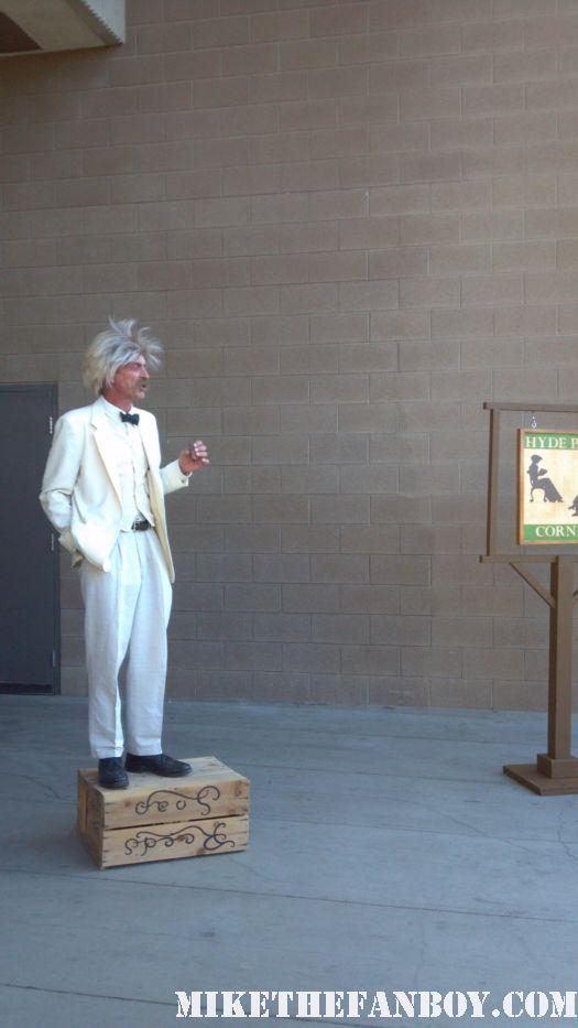 Mark Twain Victorian Costumes at the 2012 riverside dickens festival rare hot promo the novel strumpet