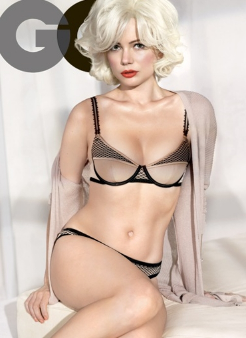 Michelle-Williams-GQ-Magazine-February-2012-1 marilyn monroe cover hot and sexy rare photo shoot gq magazine february 2012 cover shoot sexy hot rare