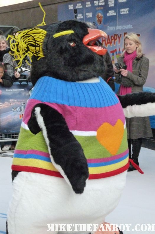 Happy Feet Two United Kingdom Premiere! With Comedy Master Robin Williams! Elijah Wood! and More!