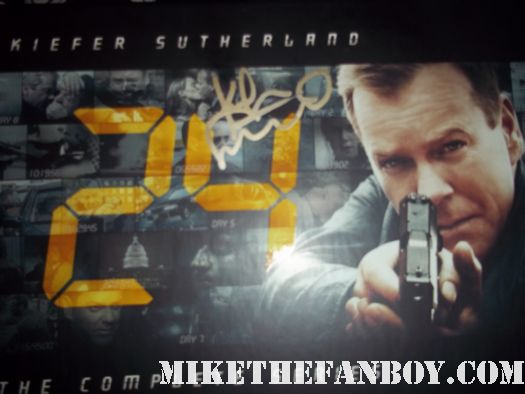 Kiefer Sutherland signed autograph photo rare jack bauer 24 hot sexy muscle prom photo rare