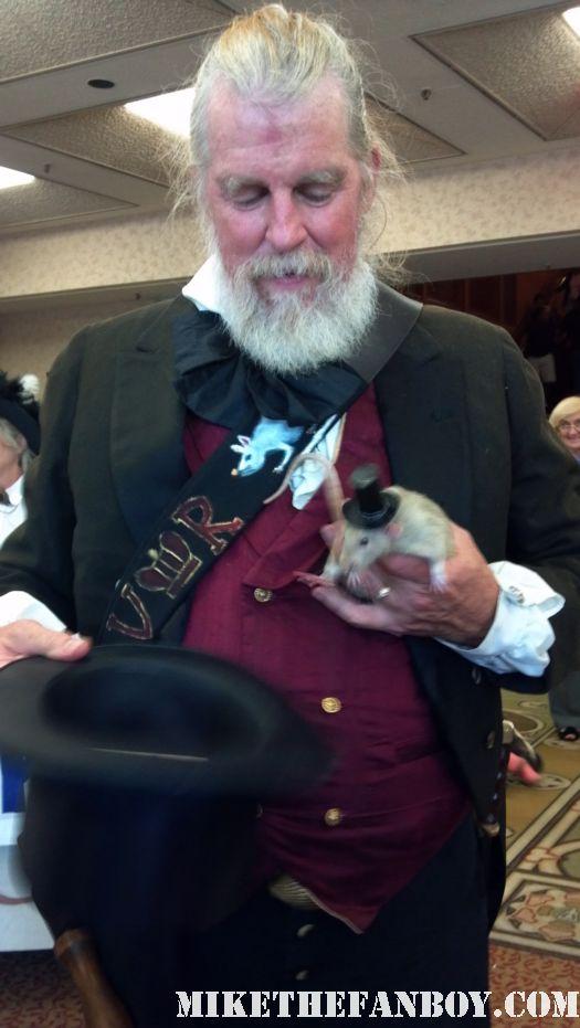 Rat Catcher Mark Twain Victorian Costumes at the 2012 riverside dickens festival rare hot promo the novel strumpet